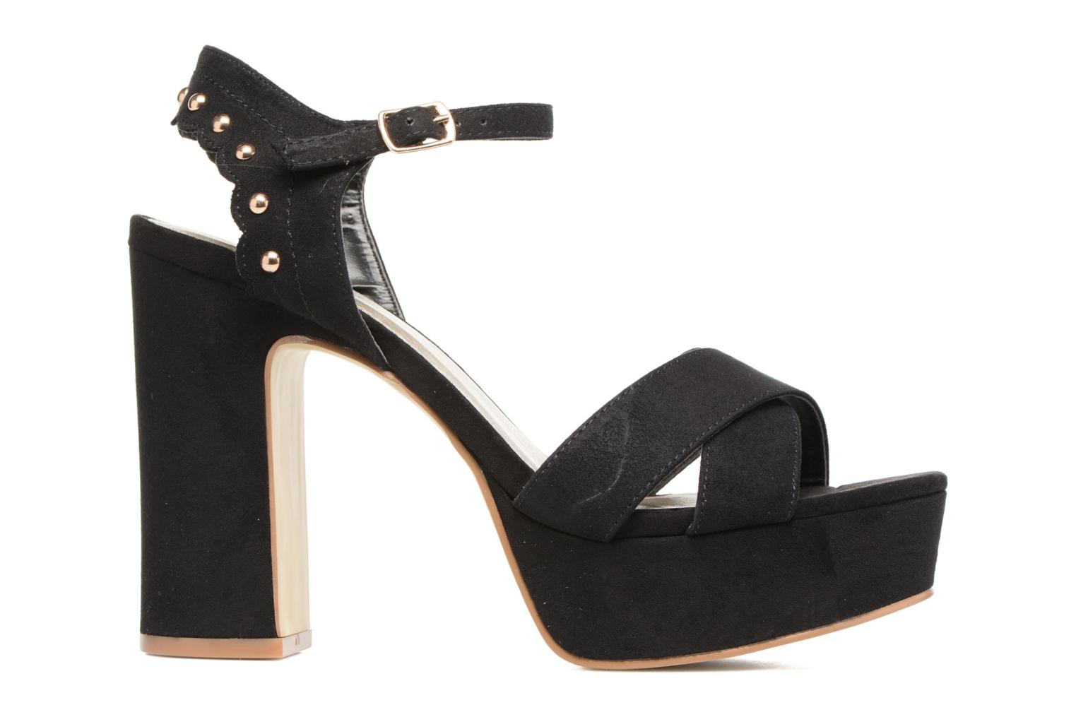 Sandals Bullboxer Imma Black back view