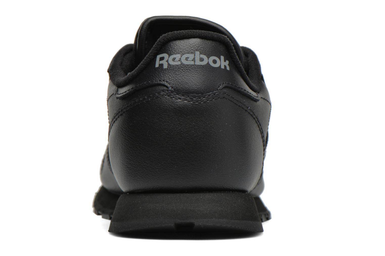 Baskets Reebok Classic Leather Noir vue droite