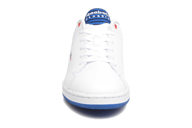 Sneaker Reebok Npc Ii Un Stripes weiß schuhe getragen