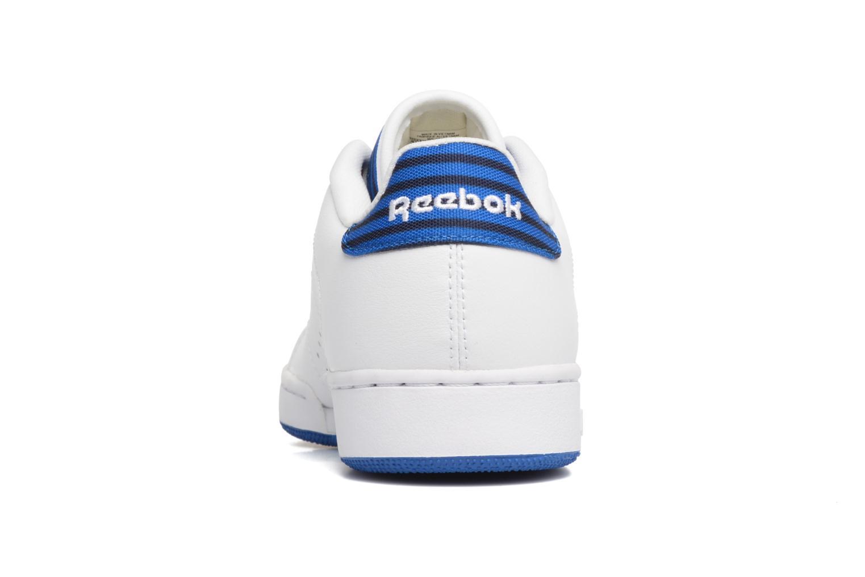 Sneaker Reebok Npc Ii Un Stripes weiß ansicht von rechts