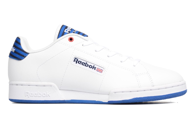 Baskets Reebok Npc Ii Un Stripes Blanc vue derrière