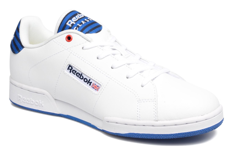 Baskets Reebok Npc Ii Un Stripes Blanc vue détail/paire