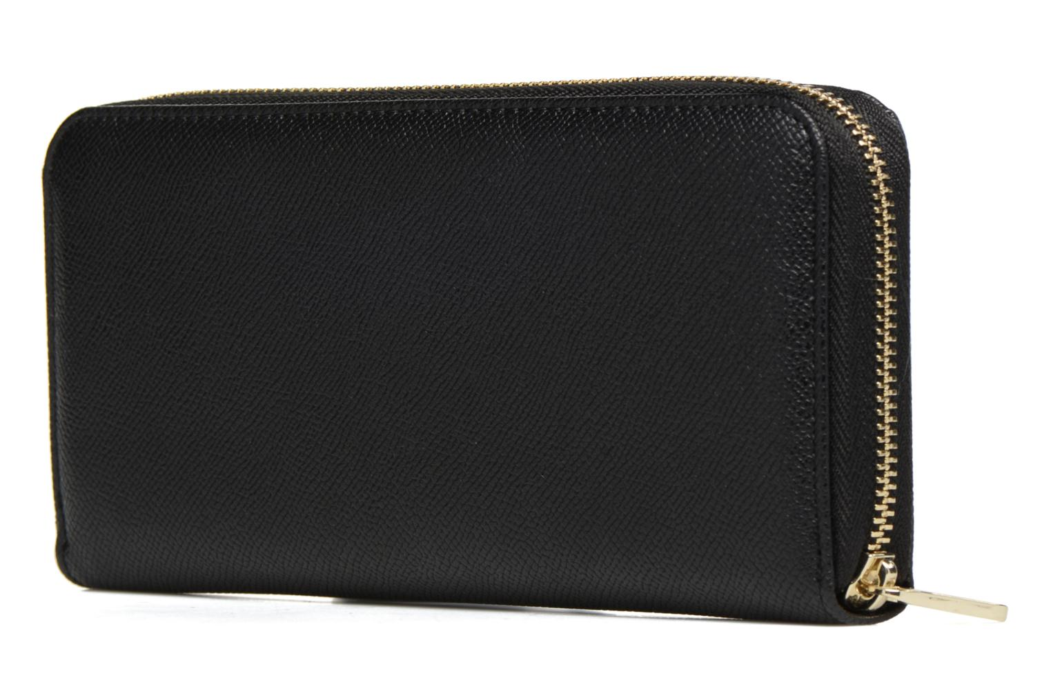 Wallets & cases Guess Isabeau Large zip around Black view from the right