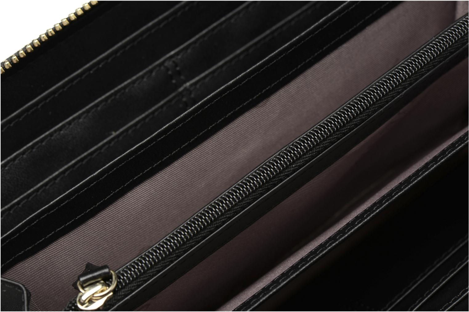 Wallets & cases Guess Isabeau Large zip around Black back view