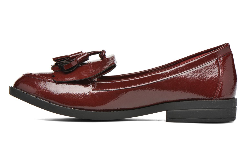 Loafers I Love Shoes KIMOC Bordeaux se forfra
