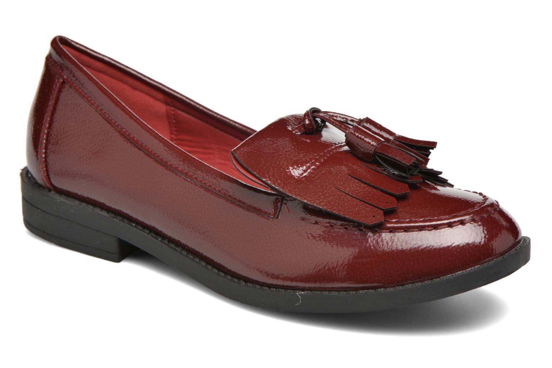 Loafers I Love Shoes KIMOC Bordeaux detaljeret billede af skoene