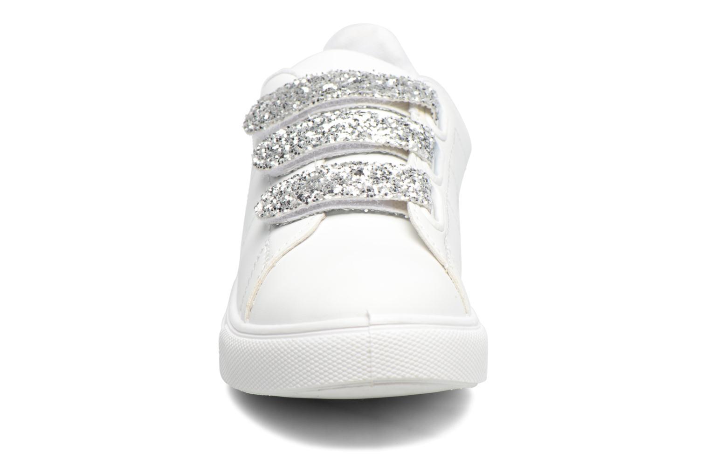 Baskets I Love Shoes KISKET Argent vue portées chaussures