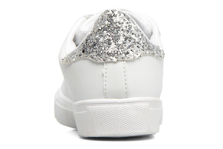 Baskets I Love Shoes KISKET Argent vue droite