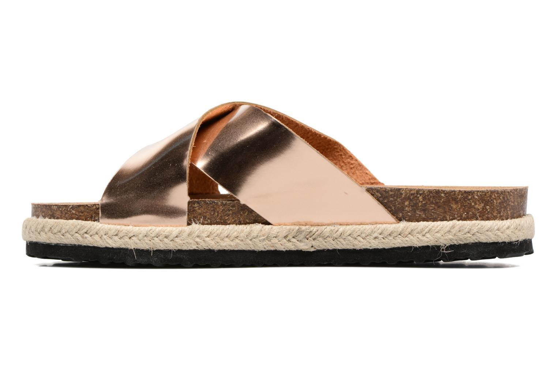 Clogs & Pantoletten I Love Shoes KANE gold/bronze ansicht von vorne