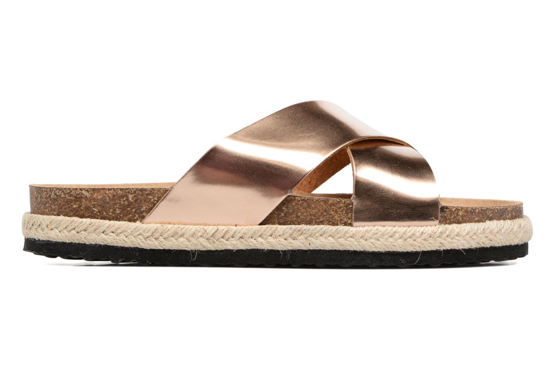 Clogs & Pantoletten I Love Shoes KANE gold/bronze ansicht von hinten