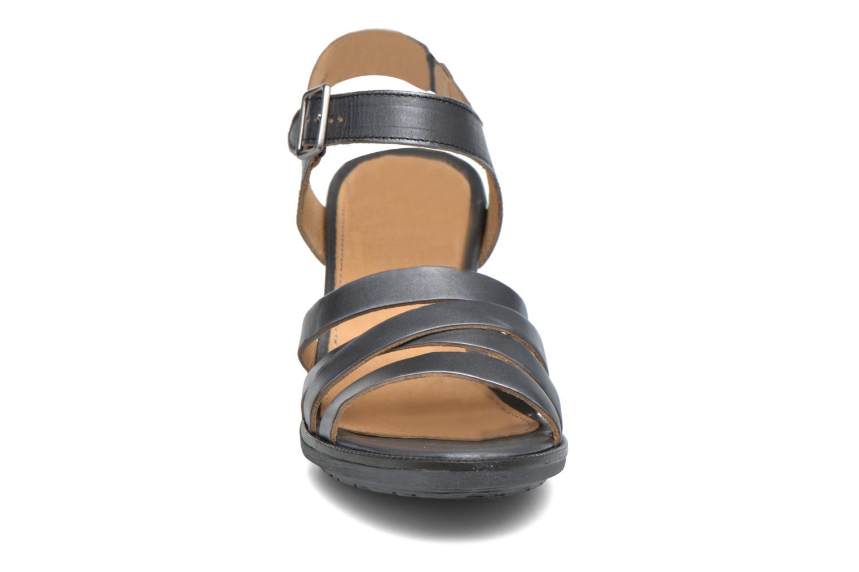 Sandales et nu-pieds P-L-D-M By Palladium Gaya Veg Mtl Gris vue portées chaussures