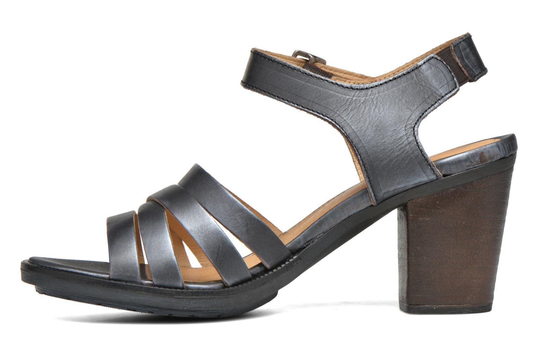 Sandales et nu-pieds P-L-D-M By Palladium Gaya Veg Mtl Gris vue face