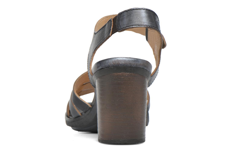 Sandales et nu-pieds P-L-D-M By Palladium Gaya Veg Mtl Gris vue droite