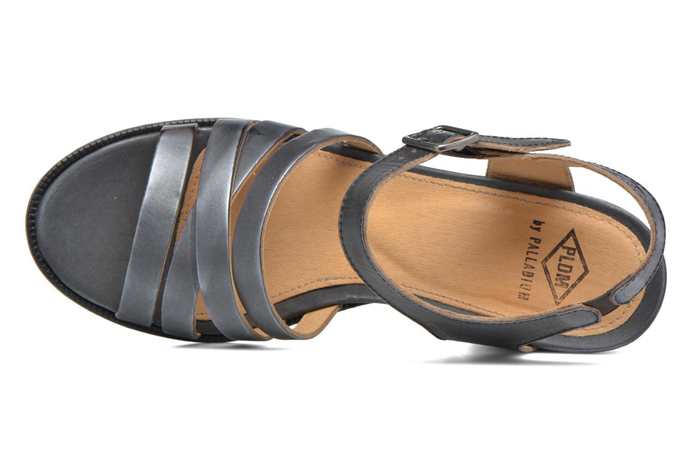 Sandales et nu-pieds P-L-D-M By Palladium Gaya Veg Mtl Gris vue gauche