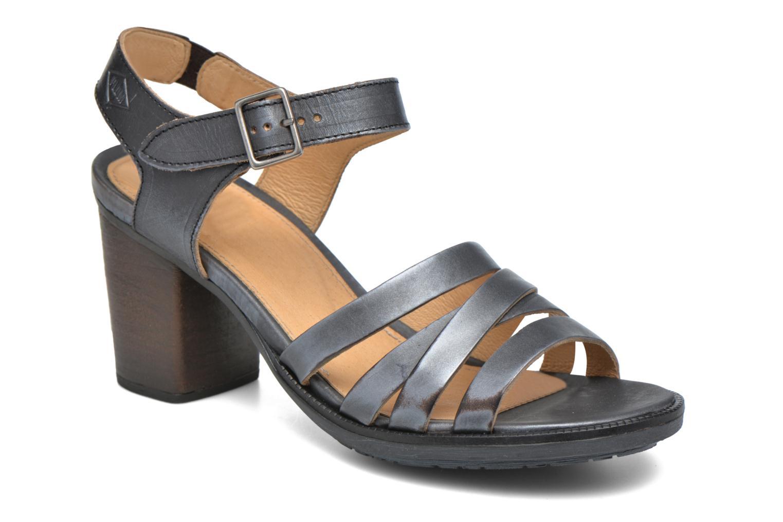 Sandales et nu-pieds P-L-D-M By Palladium Gaya Veg Mtl Gris vue détail/paire