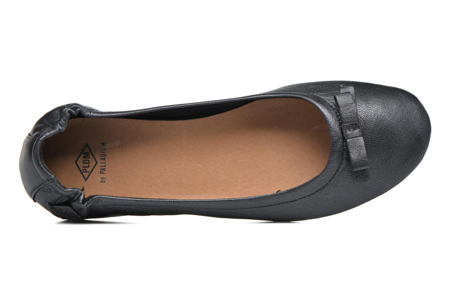 Ballerines P-L-D-M By Palladium Lovell Got Noir vue gauche