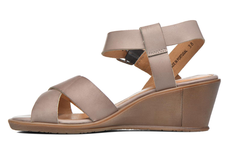 Sandales et nu-pieds P-L-D-M By Palladium Snug Vgt Beige vue face