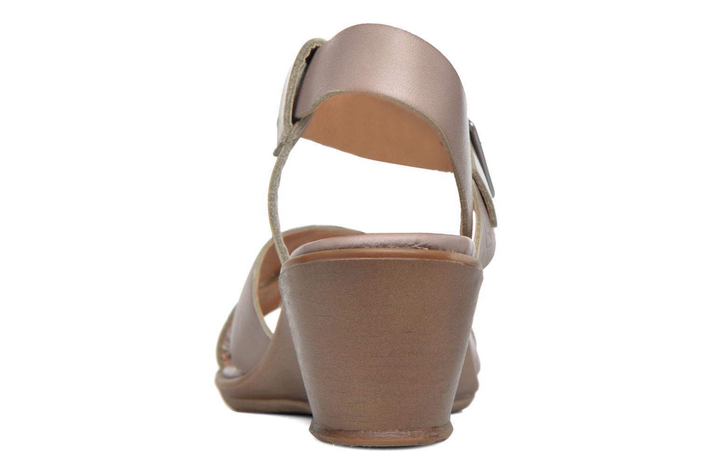 Sandales et nu-pieds P-L-D-M By Palladium Snug Vgt Beige vue droite