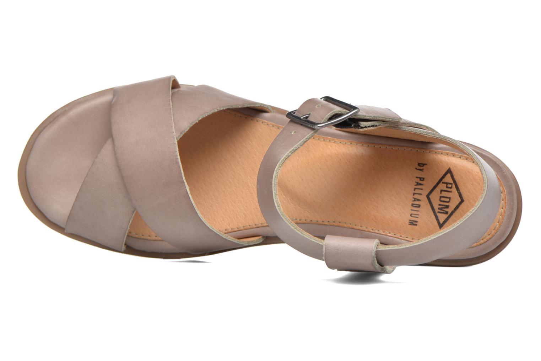 Sandales et nu-pieds P-L-D-M By Palladium Snug Vgt Beige vue gauche