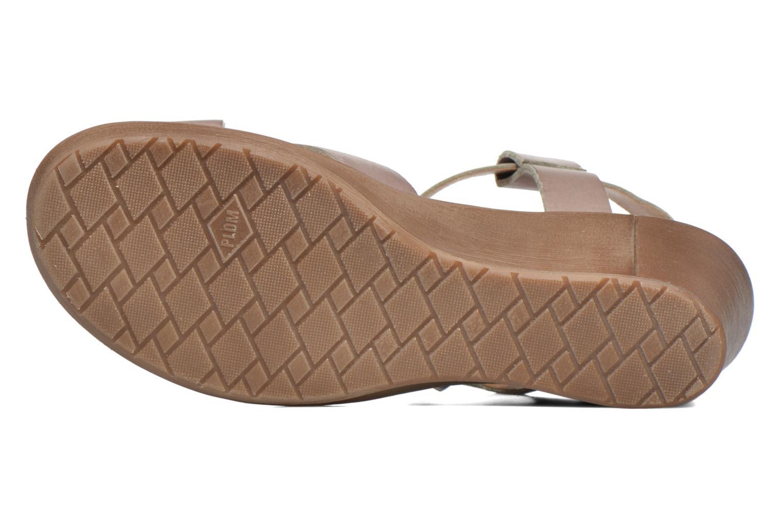 Sandales et nu-pieds P-L-D-M By Palladium Snug Vgt Beige vue haut