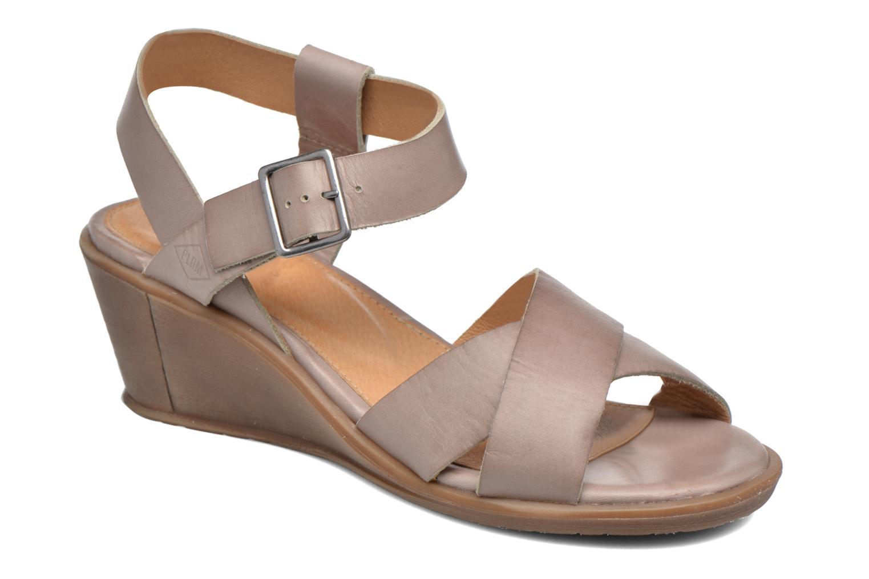 Sandales et nu-pieds P-L-D-M By Palladium Snug Vgt Beige vue détail/paire