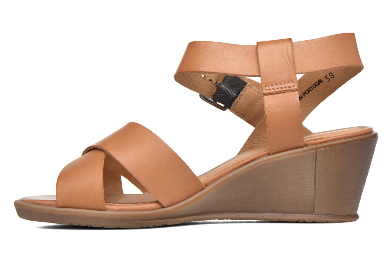 Sandales et nu-pieds P-L-D-M By Palladium Snug Vgt Marron vue face