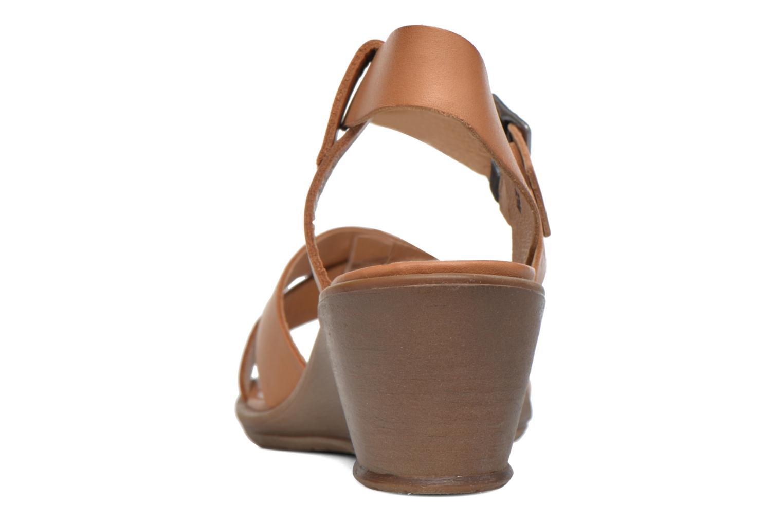 Sandales et nu-pieds P-L-D-M By Palladium Snug Vgt Marron vue droite