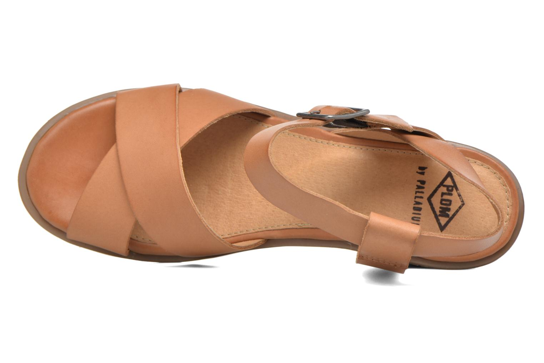 Sandales et nu-pieds P-L-D-M By Palladium Snug Vgt Marron vue gauche