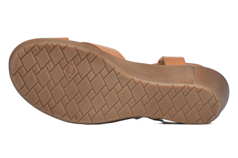 Sandales et nu-pieds P-L-D-M By Palladium Snug Vgt Marron vue haut