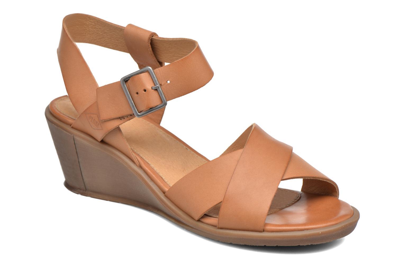 Sandales et nu-pieds P-L-D-M By Palladium Snug Vgt Marron vue détail/paire