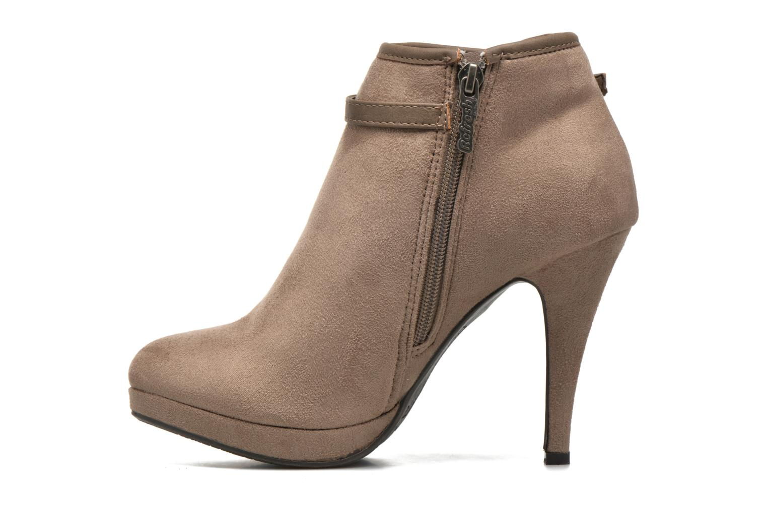 Bottines et boots Refresh Alma-61122 Beige vue face