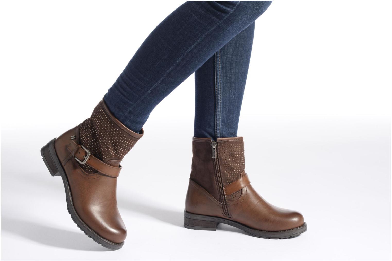 Bottines et boots Refresh Elisa-61425 Noir vue bas / vue portée sac