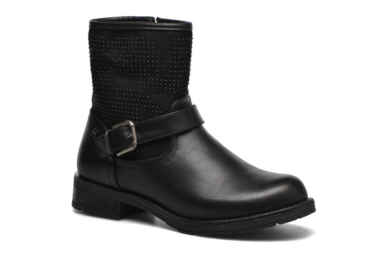 Ankelstøvler Refresh Elisa-61425 Sort detaljeret billede af skoene