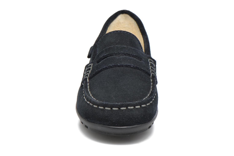 Mocassins Geox J Fast B J42G5B Bleu vue portées chaussures