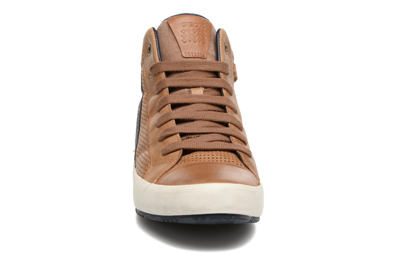 Baskets Geox J Alonisso B. J642CB Marron vue portées chaussures