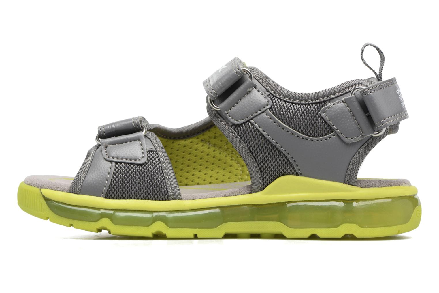 Sandals Geox J S.Android B.B J720QB Grey front view
