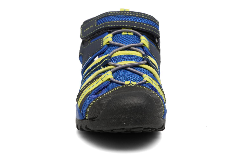 Sandales et nu-pieds Geox J Borealis B.C J720RC Bleu vue portées chaussures