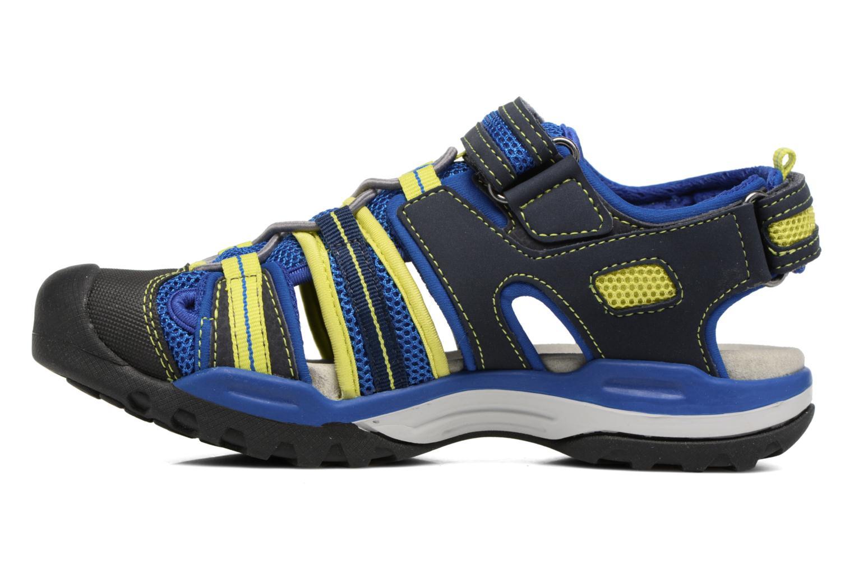 Sandales et nu-pieds Geox J Borealis B.C J720RC Bleu vue face