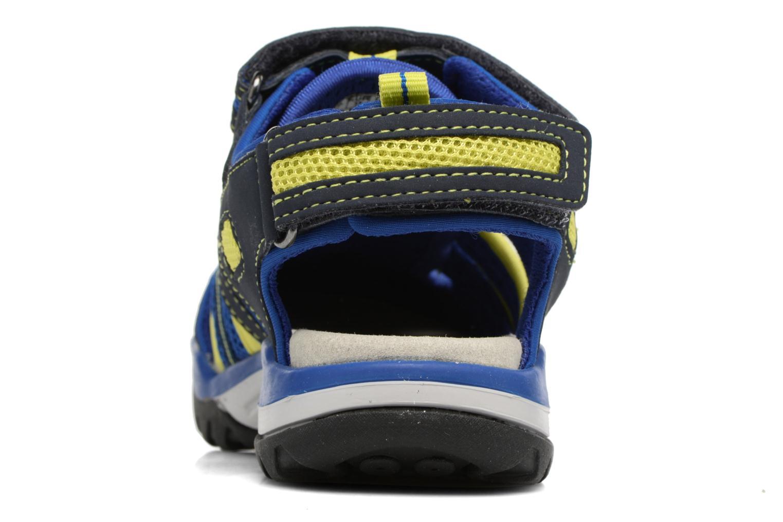 Sandales et nu-pieds Geox J Borealis B.C J720RC Bleu vue droite