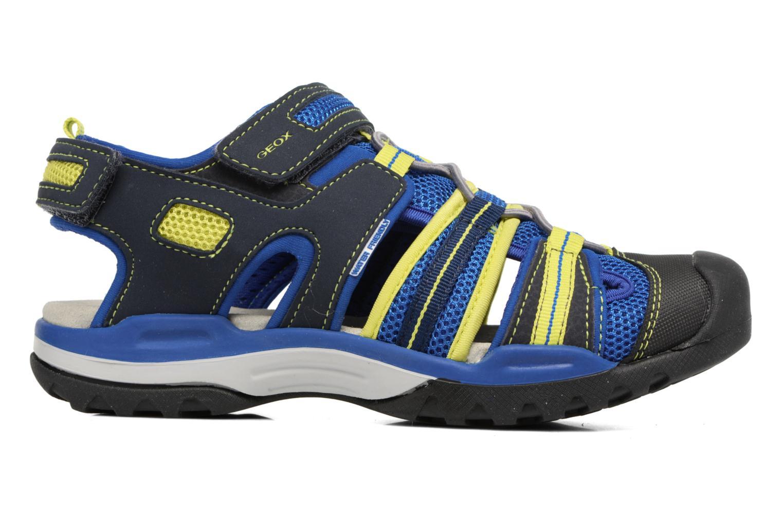 Sandales et nu-pieds Geox J Borealis B.C J720RC Bleu vue derrière