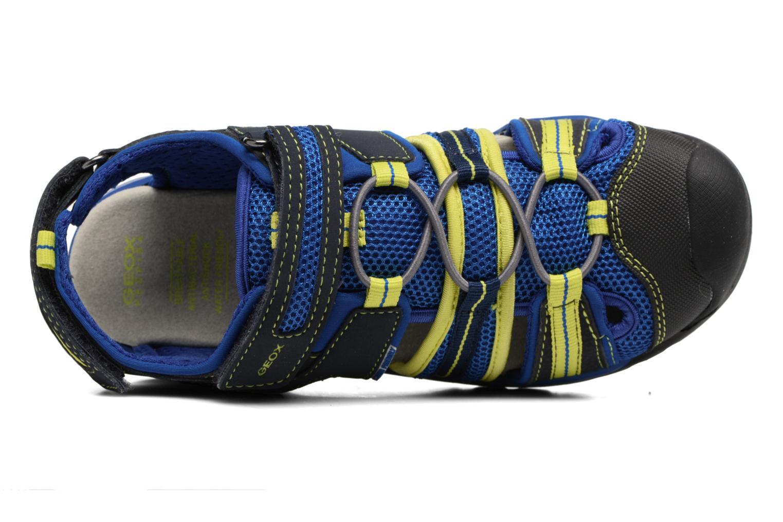 Sandales et nu-pieds Geox J Borealis B.C J720RC Bleu vue gauche