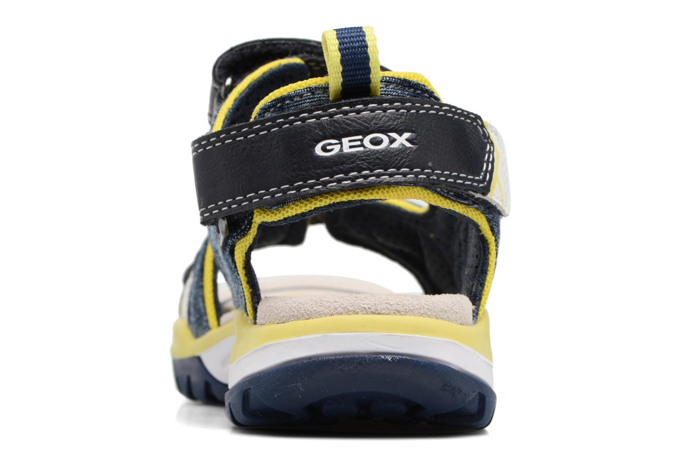 Sandales et nu-pieds Geox J Borealis B. D J720RD Bleu vue droite