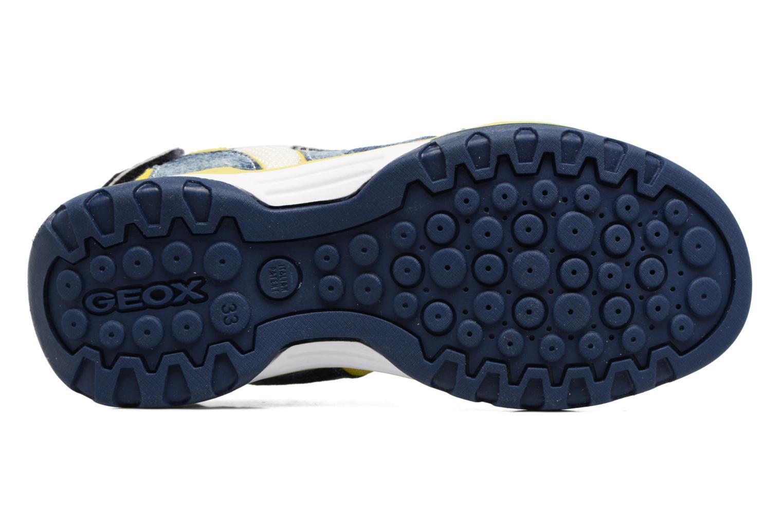 Sandales et nu-pieds Geox J Borealis B. D J720RD Bleu vue haut