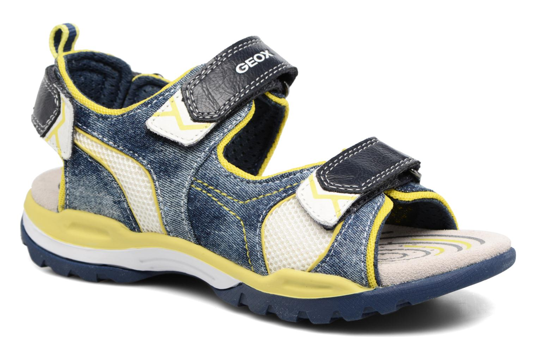 Sandales et nu-pieds Geox J Borealis B. D J720RD Bleu vue détail/paire