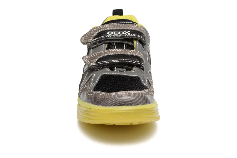 Baskets Geox J Argonat B. C J7229C Gris vue portées chaussures
