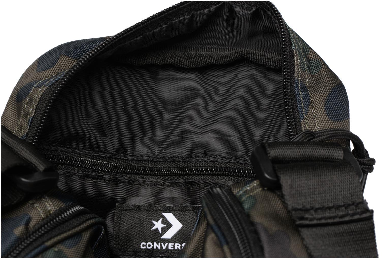 Herrentaschen Converse Core Poly Crossbody grün ansicht von hinten