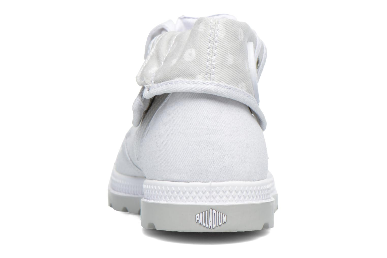 Baskets Palladium Bgy Low Lp Mtlk Blanc vue droite