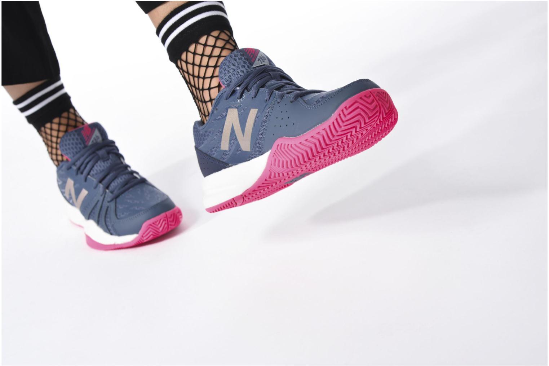 Chaussures de sport New Balance WC786 Bleu vue bas / vue portée sac