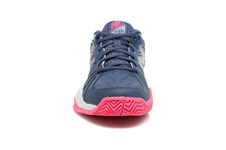 Chaussures de sport New Balance WC786 Bleu vue portées chaussures