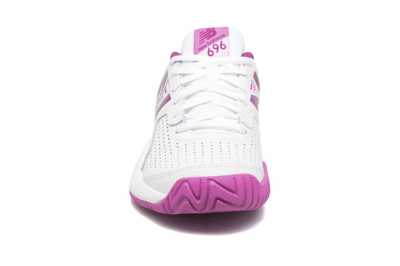 Chaussures de sport New Balance WC696 Blanc vue portées chaussures